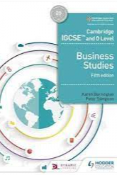 CAMBRIDGE IGCSE AND OLEVEL BUSINESS STUDIES 5ED